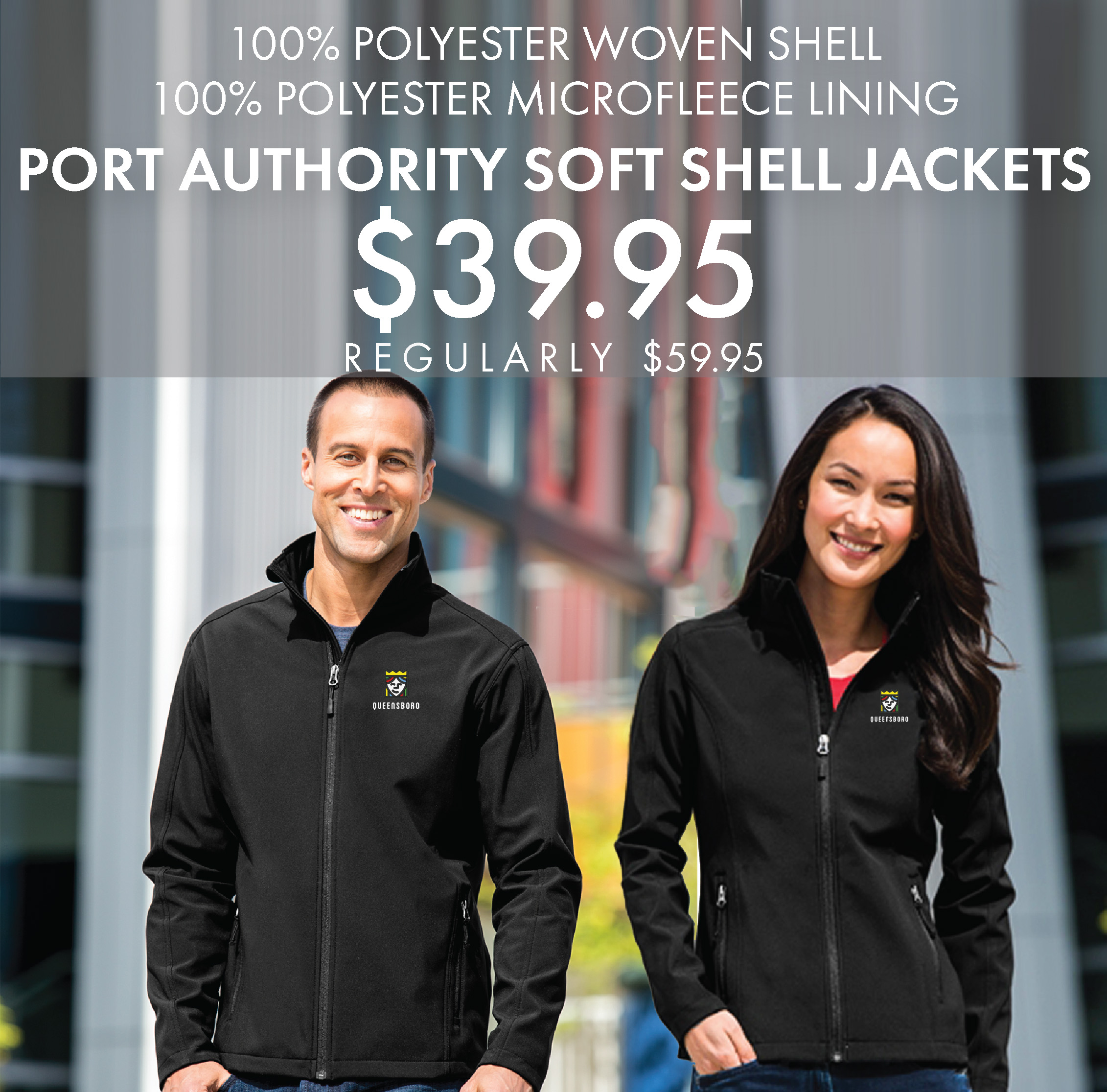 Custom Embroidered Port Authority Soft Shell Jackets