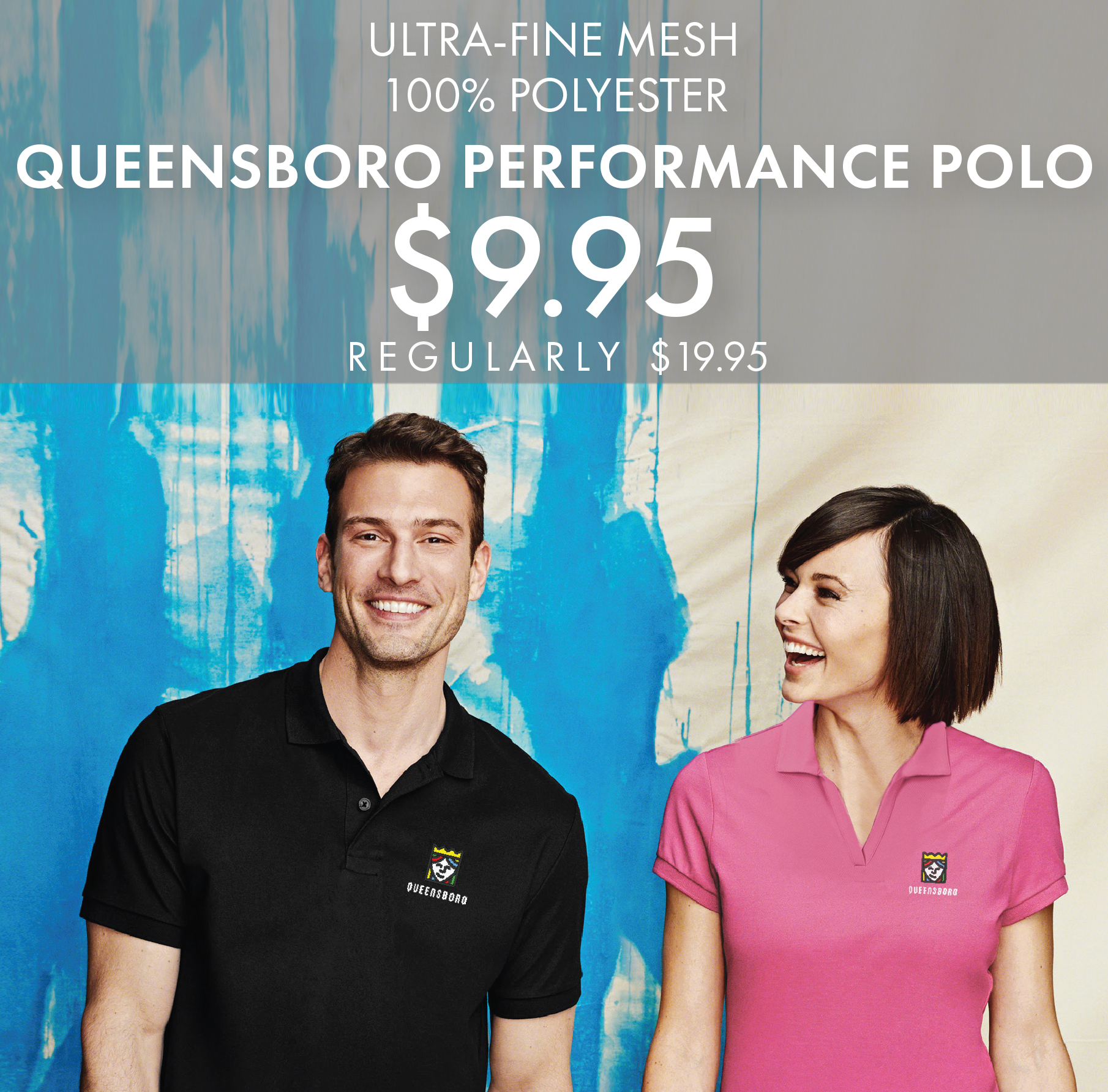 30 Off Custom Embroidered Shirts Polos Queensboro