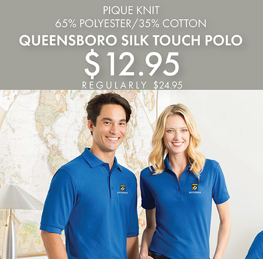 Custom Embroidered Queensboro Silk Touch Polos